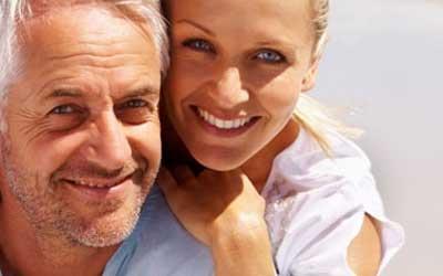 Paar mit Altersunterschied