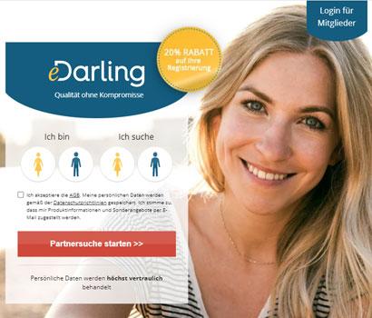 Edarling Webseite