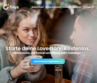 Finya.at Webseite