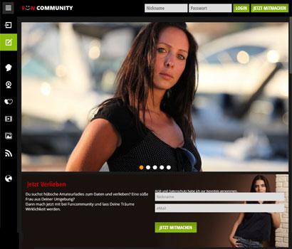 Funcommunity.com Webseite