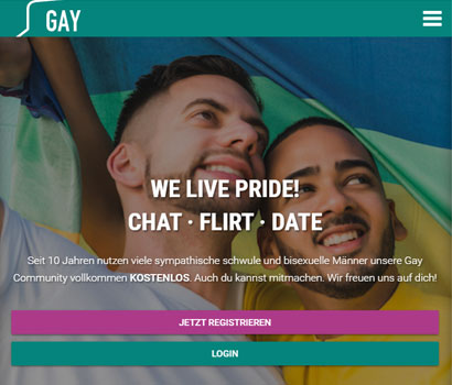 Gay.de Webseite