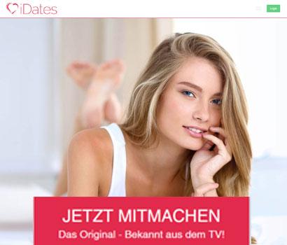 iDates Webseite