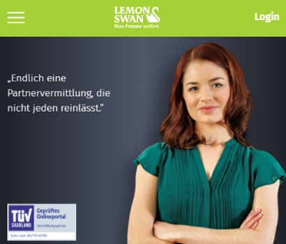 Lemonswan.at Webseite