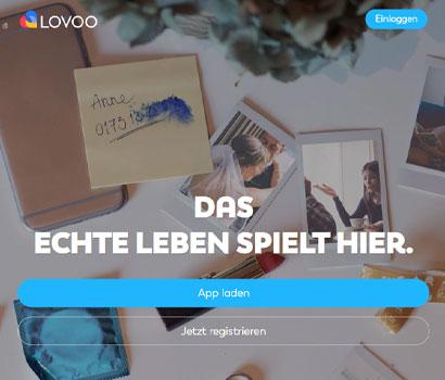 Lovoo Webseite