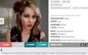 Online Dating Profil