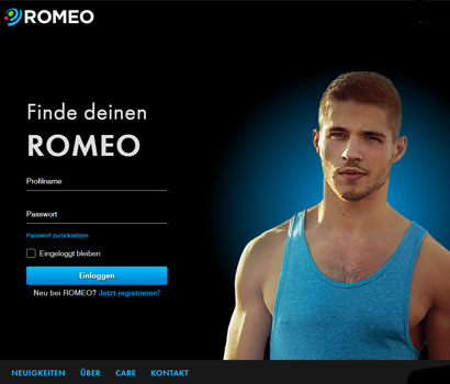 Romeo.com Webseite